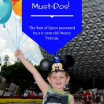 Connor's Epcot Must-Dos!