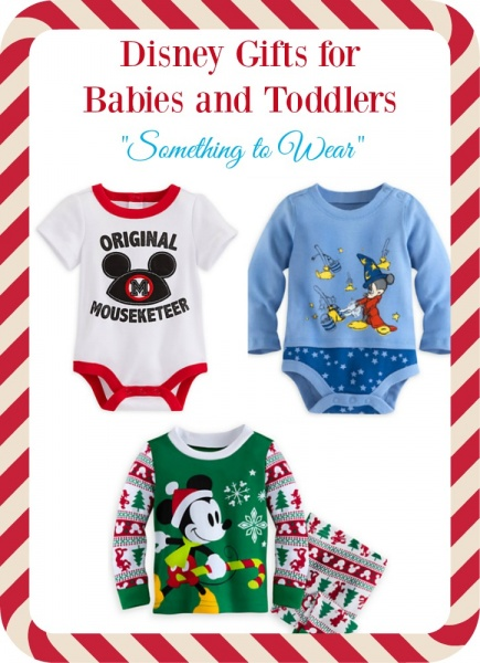 Disney Gifts for Babies and Toddlers - Something to Wear