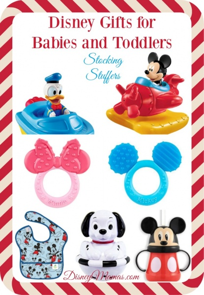 Disney Gifts for Babies and Toddlers - Stocking Stuffers