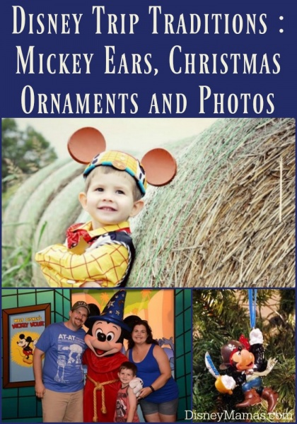 Disney Trip Traditions - Mickey Ears, Christmas Ornaments and Annual Photos