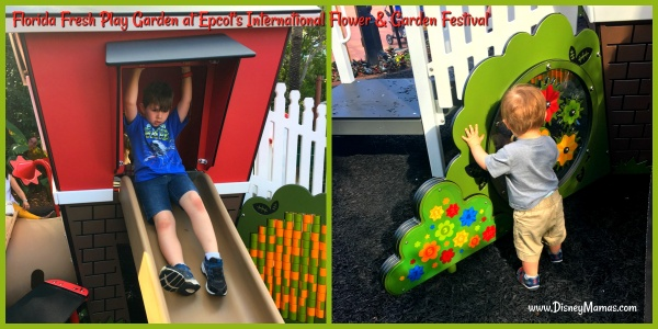 Florida Fresh Play Garden at Epcot's International Flower & Garden Festival
