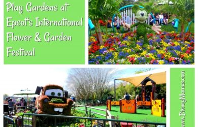 Play Gardens at Epcot's International Flower & Garden Festival