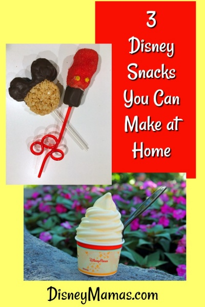 3 Disney Snacks You Can Make at Home