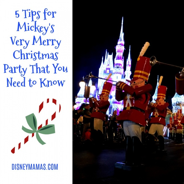 5 tips for mickeys very merry christmas party you need to know - Merry Merry Merry Christmas