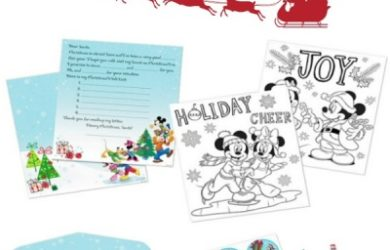 Mickey Mouse Letters to Santa Kit from USPS