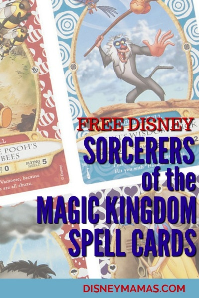 Free Disney: Sorcerers of the Magic Kingdom Cards